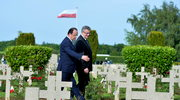 Podniosłe słowa w Normandii: Zwycięstwo wolności nad światem zła i przemocy