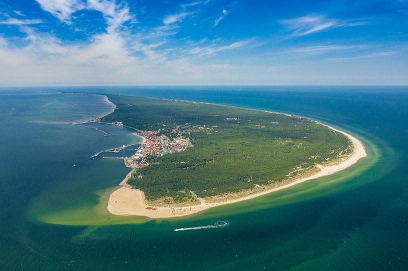 Podnoszą się wody Bałtyku. Na zdjęciu Półwysep Helski /123RF/PICSEL