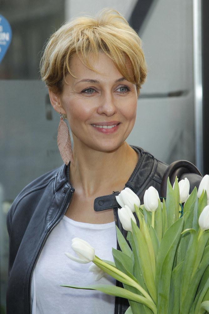 Podoba wam się Anna Popek jako blondynka? /Andrzej Engelbrecht /AKPA
