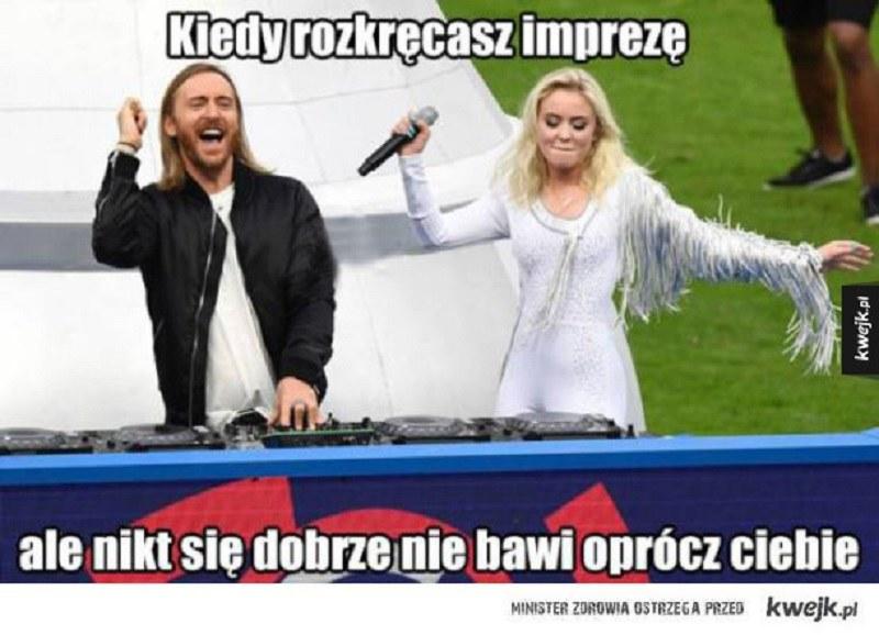 Podobał sie wam występ Guetty? /Kwejk.pl /Internet