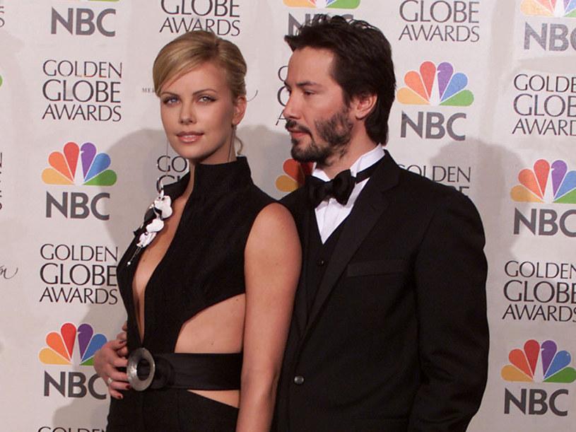 Podobno Charlize i Keanu są dla siebie stworzeni  /Getty Images/Flash Press Media