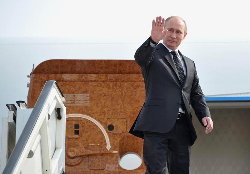 """Podobno sam Putin miał nadzorować odpowiednie """"wykończenie"""" tego prezydenckiego samolotu /AFP"""