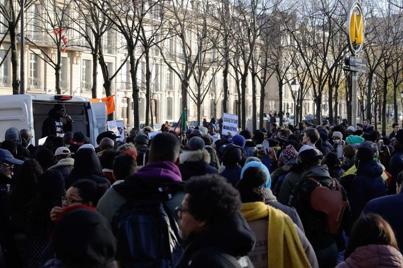 Podobny marsz odbył się w Paryżu /AFP
