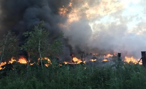 """Podpalacze z Trzebini zatrzymani. Podłożyli ogień, """"żeby coś się działo"""""""