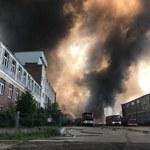 Podpalenie było przyczyną ogromnego pożaru w Zgierzu