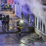 Podpalono meczet. W środku było około 20 osób