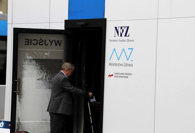 Podpalony punkt szczepień w Zamościu /FOT. BOGDAN NOWAK / POLSKA PRESS/Polska Press/East News /East News