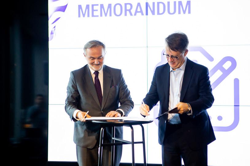 Podpisanie memorandum /materiały prasowe