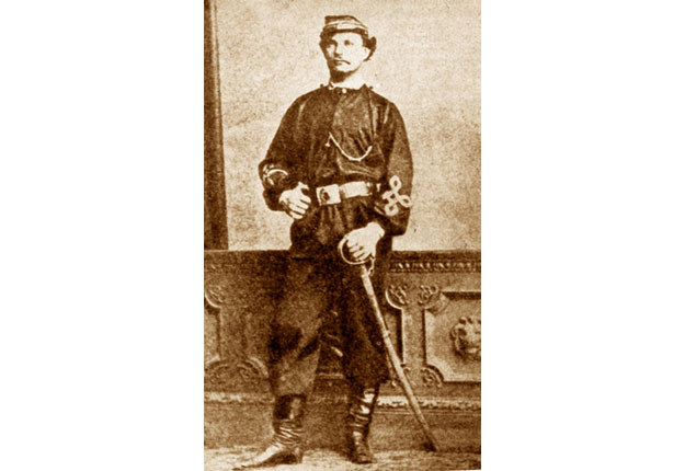 Podpułkownik Karol Kalita de Brenzenheim pseudonim Rębajło /INTERIA.PL