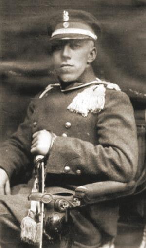 Podrotmistrz Jerzy Dąmbrowski /Wikimedia