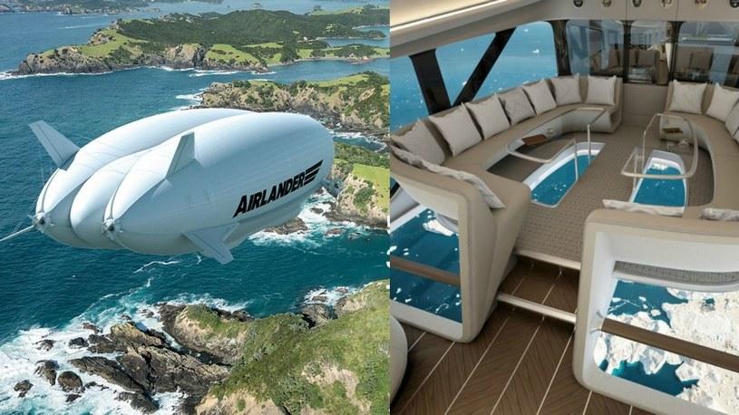 Podróże luksusowym i ekologicznym sterowcem Airlander już za 4 lata /Geekweek