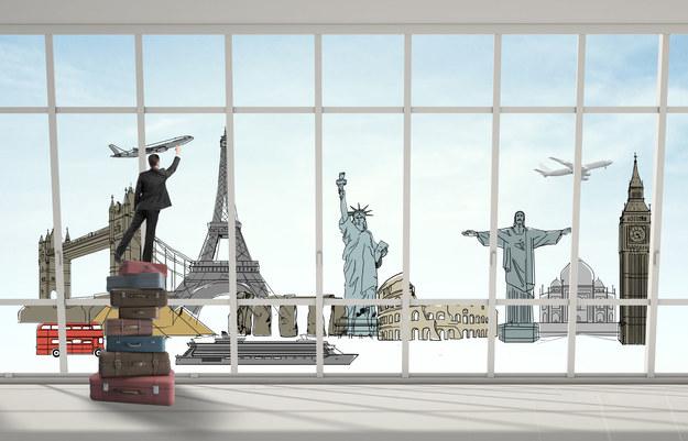 Podróże wzbogacają... również twoje CV! /123RF/PICSEL