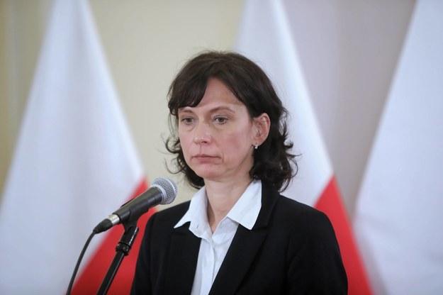 Podsekretarz stanu w Ministerstwie Sprawiedliwości Anna Dalkowska /Wojciech Olkuśnik /PAP