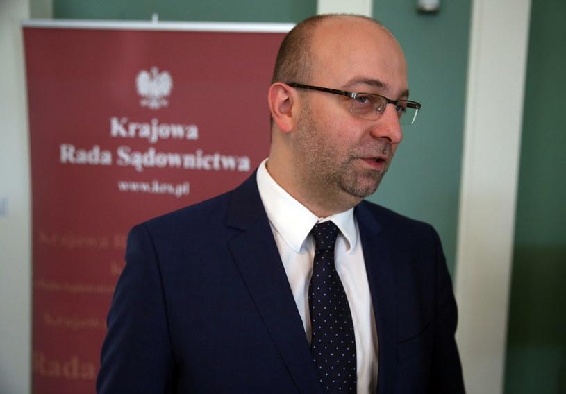 Podsekretarz stanu w Ministerstwie Sprawiedliwości Łukasz Piebiak /Tomasz Gzell /PAP