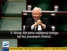 """Podsłuchane w Sejmie: """"Pogawędka"""" Nitrasa z Kaczyńskim"""