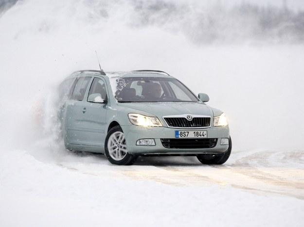 Podstawowa propozycja: Octavia kombi 4x4. Na zdjęciu model po liftingu. /Skoda