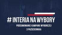 Podsumowanie kampanii wyborczej. 3 października