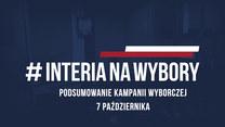 Podsumowanie kampanii wyborczej. 7 października