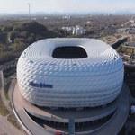 Podświetlona Allianz Arena jest widoczna ze szczytów austriackich gór!