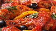 Podudzia duszone w pomidorach