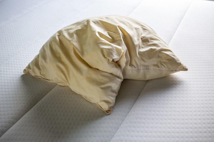 Poduszkę z pierzem należy prać w delikatnych detergentach /123RF/PICSEL