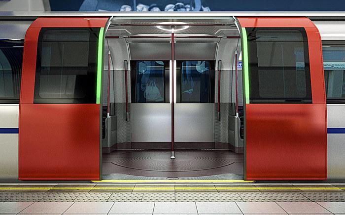Podwójne drzwi - wchodzenie i wychodzenie z wagoników  ma być znacznie bardziej efektywne /materiały prasowe