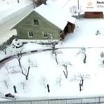 Podwórkowy tor bobslejowy. Tata wybudował konstrukcję dla dzieci