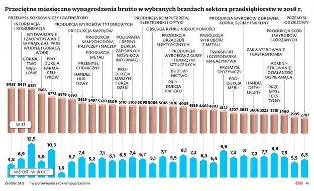 Podwyżki w Polsce dostało wielu pracowników! /Dziennik Gazeta Prawna
