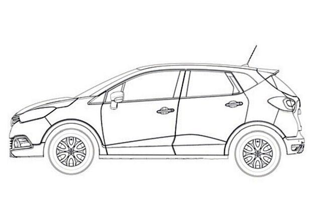 Podwyższone Renault Clio /