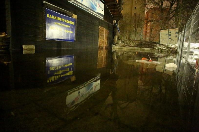 Podwyższony stan wody w Gdańsku /Piotr Hukalo /East News
