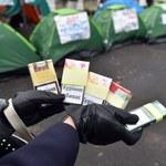 Podziemie papierosowe w Polsce rekordowo niskie