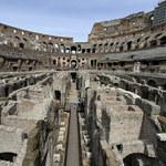 Podziemne korytarze w Koloseum po raz pierwszy udostępnione zwiedzającym