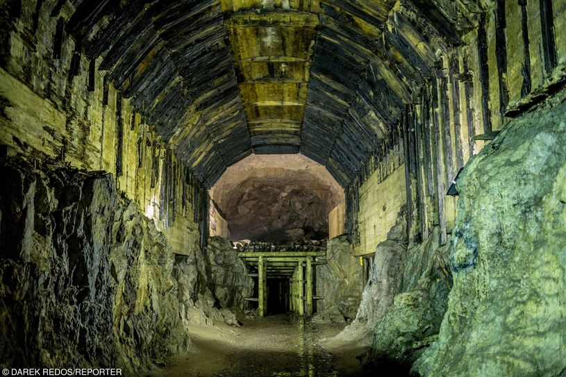 Podziemny kompleks z czasów II wojny światowej w Osówce /    Darek Redos/REPORTER /East News