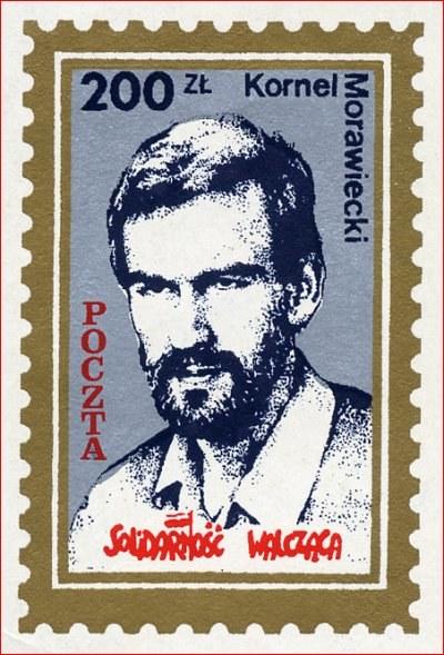Podziemny znaczek pocztowy /Archiwum autora