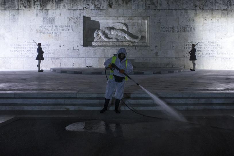 Pogarsza się sytuacja epidemiologiczna w Grecji /Ayhan Mehmet/Anadolu Agency /Getty Images