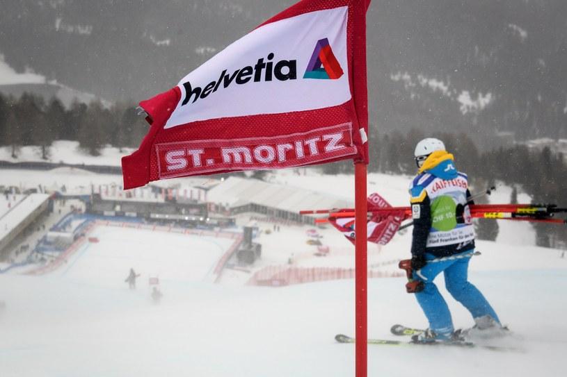 Pogoda nie pozwoliła rozegrać niedzielnych zawodów w St. Moritz /AFP