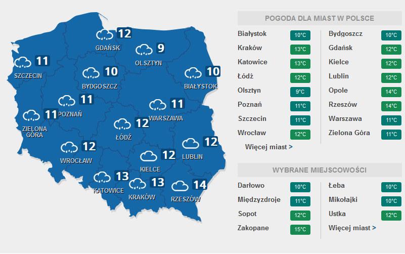 Pogoda /INTERIA.PL