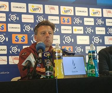 Pogoń Szczecin. Kosta Runjaić po porażce z Cracovią. Wideo