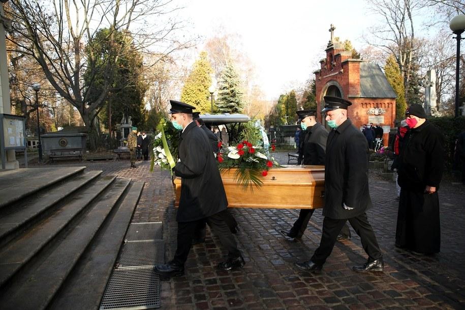 Pogrzeb Adama Musiała //Łukasz Gągulski /PAP