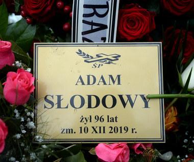 Pogrzeb Adama Słodowego