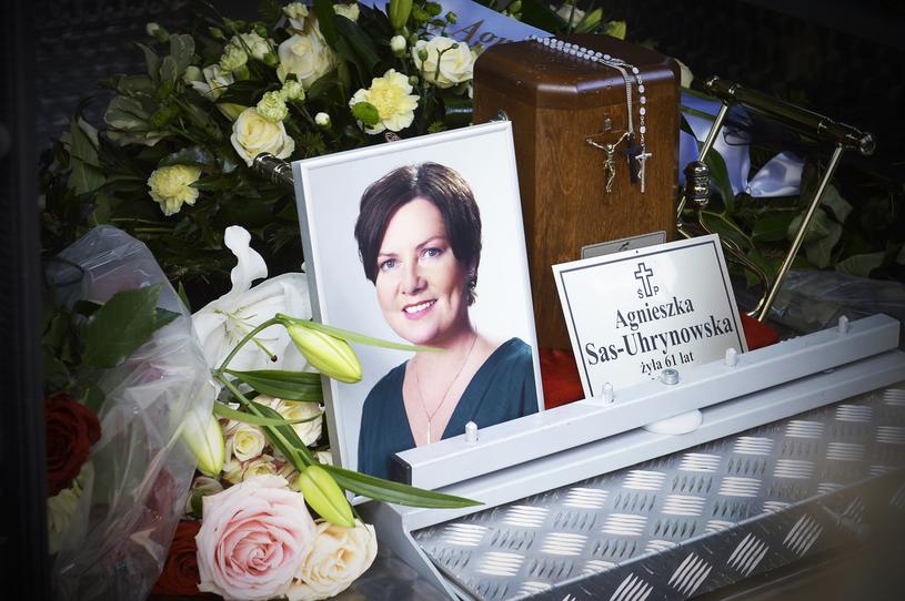 Pogrzeb Agnieszki Kotulanki /Niemiec /AKPA