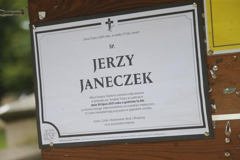 Pogrzeb aktora Jerzego Janeczka /AKPA