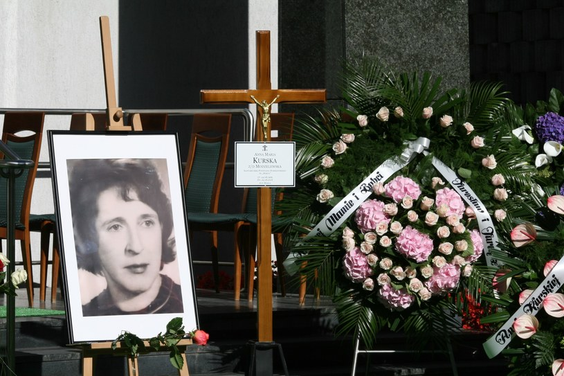 Pogrzeb Anny Kurskiej /Andrzej Wrzesiński /East News