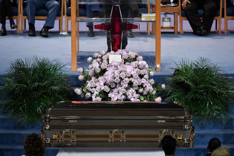 Pogrzeb Arethy Franklin /Angela Weiss /East News