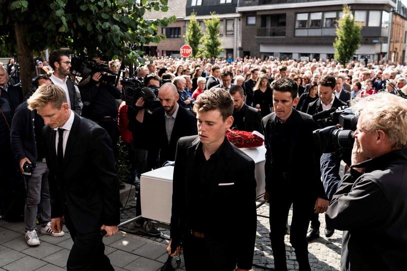 Pogrzeb Bjorga Lambrechta /AFP