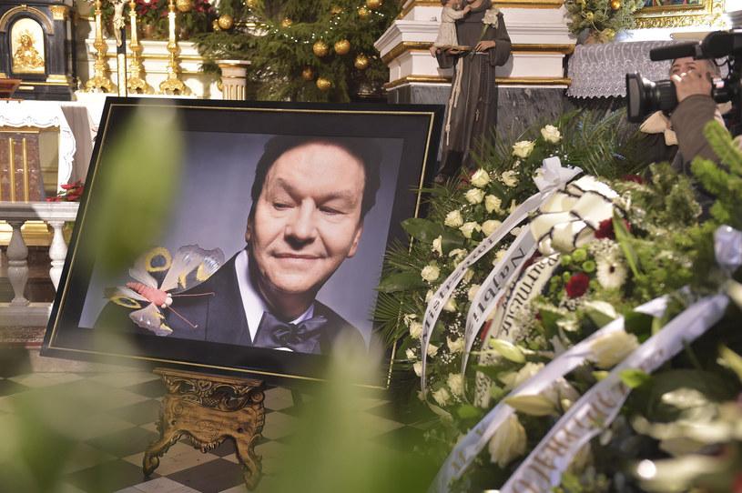 Pogrzeb Bogusława Kaczyńskiego /Mieszko Pietka /AKPA