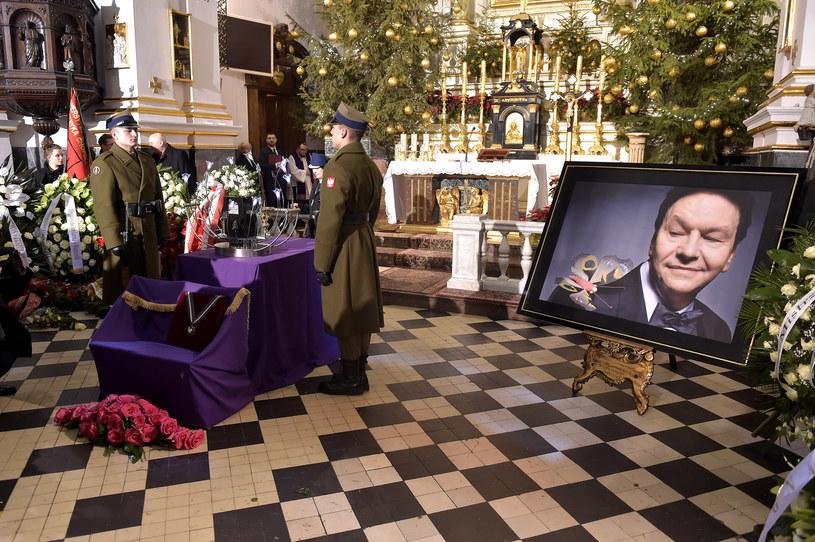 Pogrzeb Bogusława Kaczyńskiego /- /AKPA