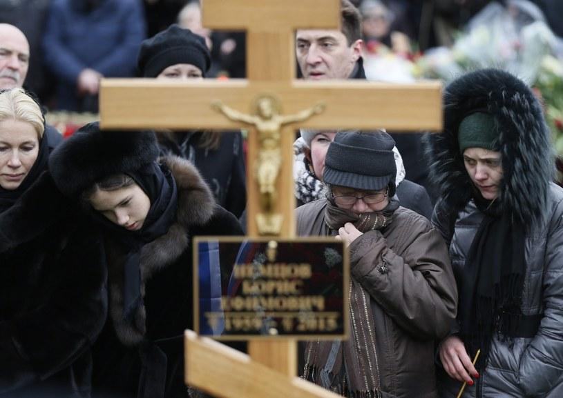 Pogrzeb Borysa Niemcowa /PAP/EPA