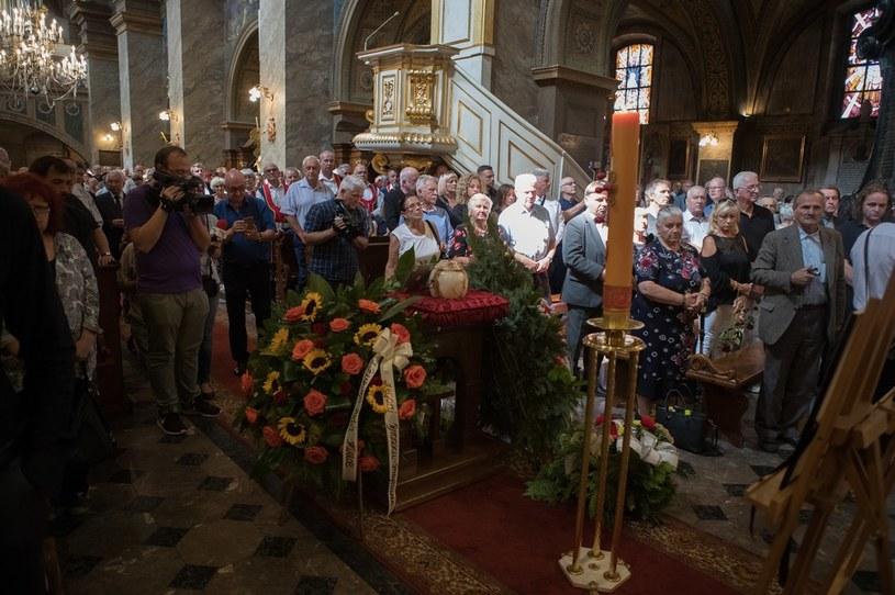 Pogrzeb Bronisława Opałko odbył się 23 sierpnia 2018 roku /Lukasz Gagulski  /Agencja FORUM