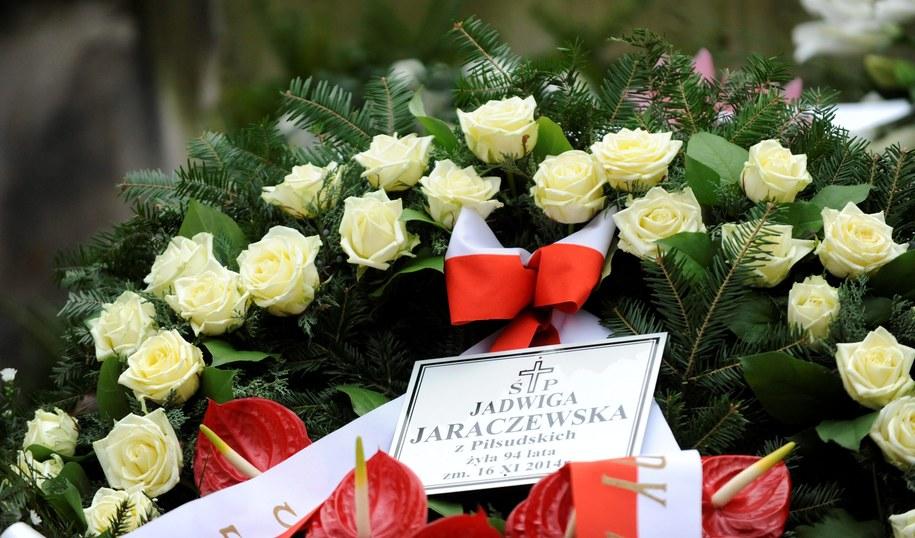 Pogrzeb córki marszałka Józefa Piłsudskiego /Bartłomiej Zborowski /PAP